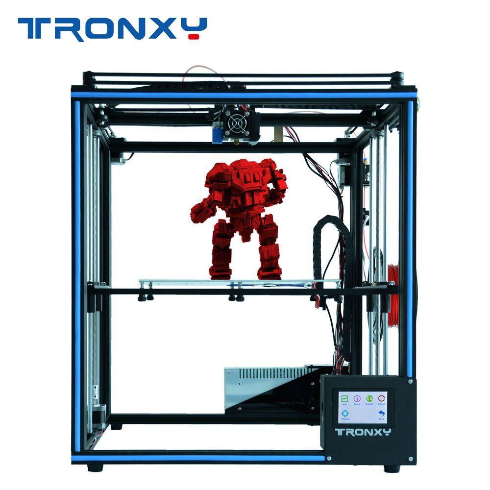 2019 TRONXY X5SA DIY voller Metall Struktur druck große größe 330*330*400mm 3D impresora kit