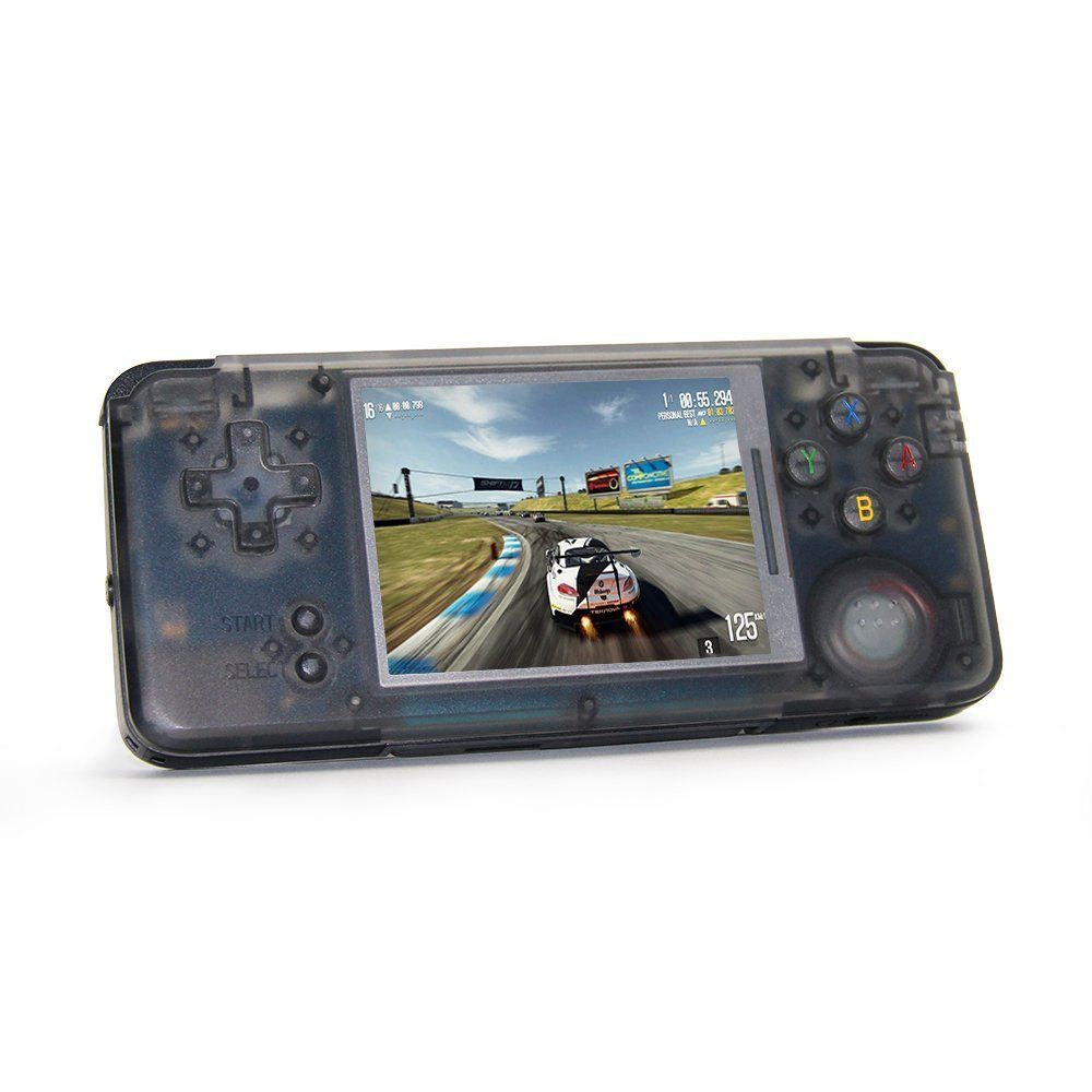 RS-97 retro Handheld Game Console Portable Mini Video Gaming Players Built-in 818 Games Support For NEOGEO/GBC/FC/CP1/CP2/GB/GBA