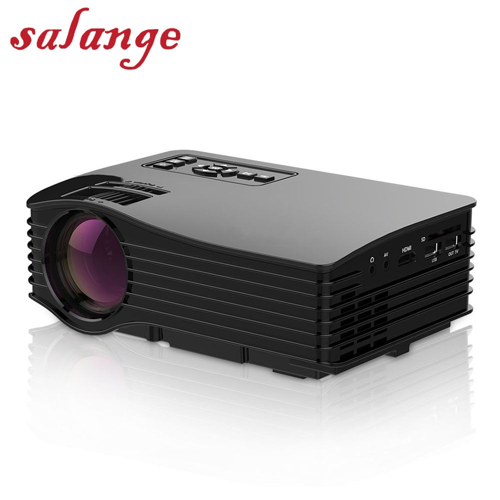 UC36+ Mini LCD Projector Full Color Smart LED Proyector WIFI Home Theater HDMI AV SD USB Micro USB Beamer