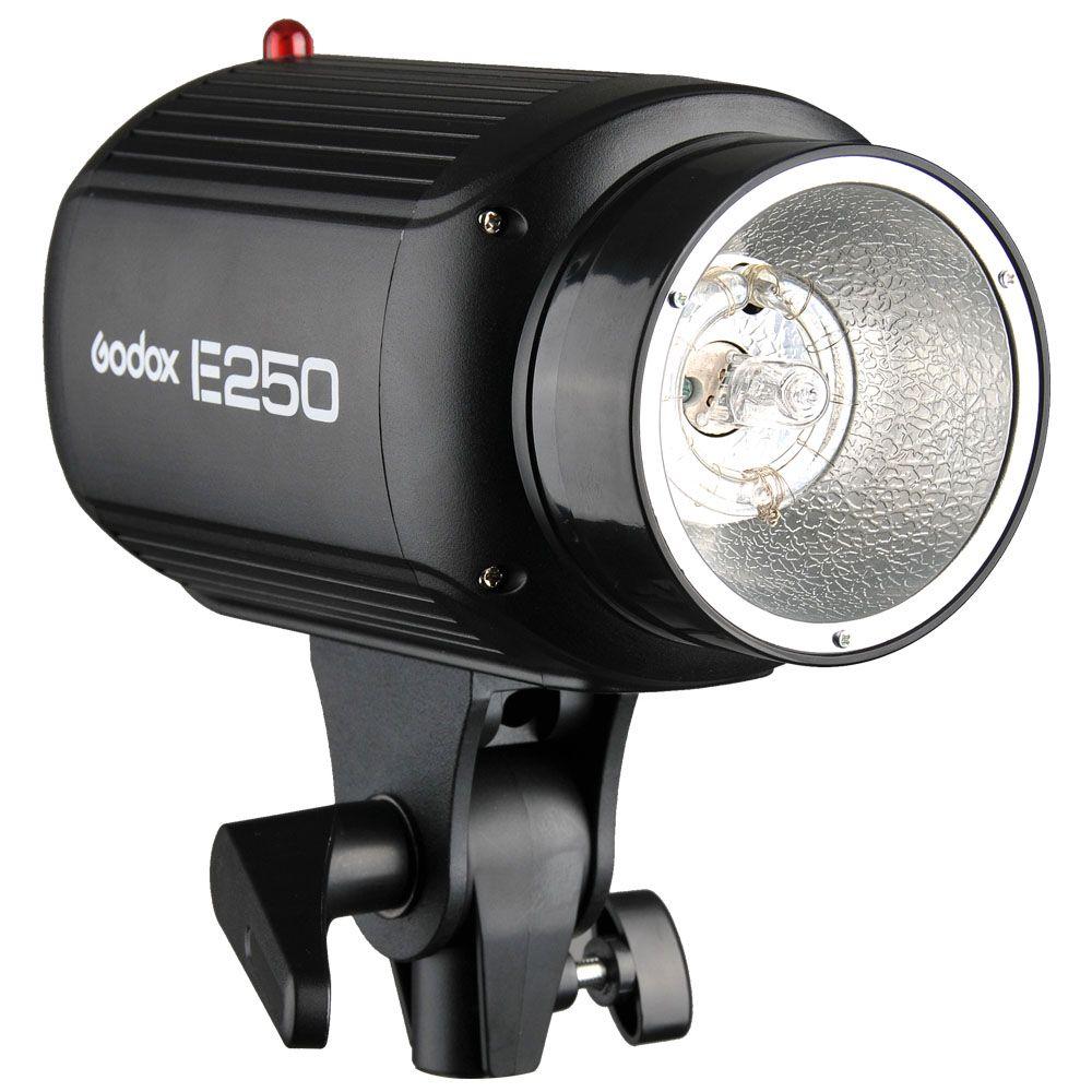 Hot speedlite flash Godox E250 Pro Photography Studio Strobe Photo Flash Light 250W Studio Flashgun 220V and 110V