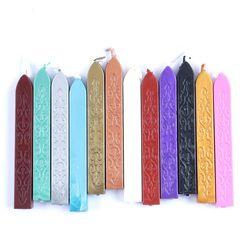 12 цветов DIY уплотнительная полоса, выделенные восковые мелки, брендинг для рисования печать, уплотнение, воск, Sigillo, ручная работа, хобби, DIY и...