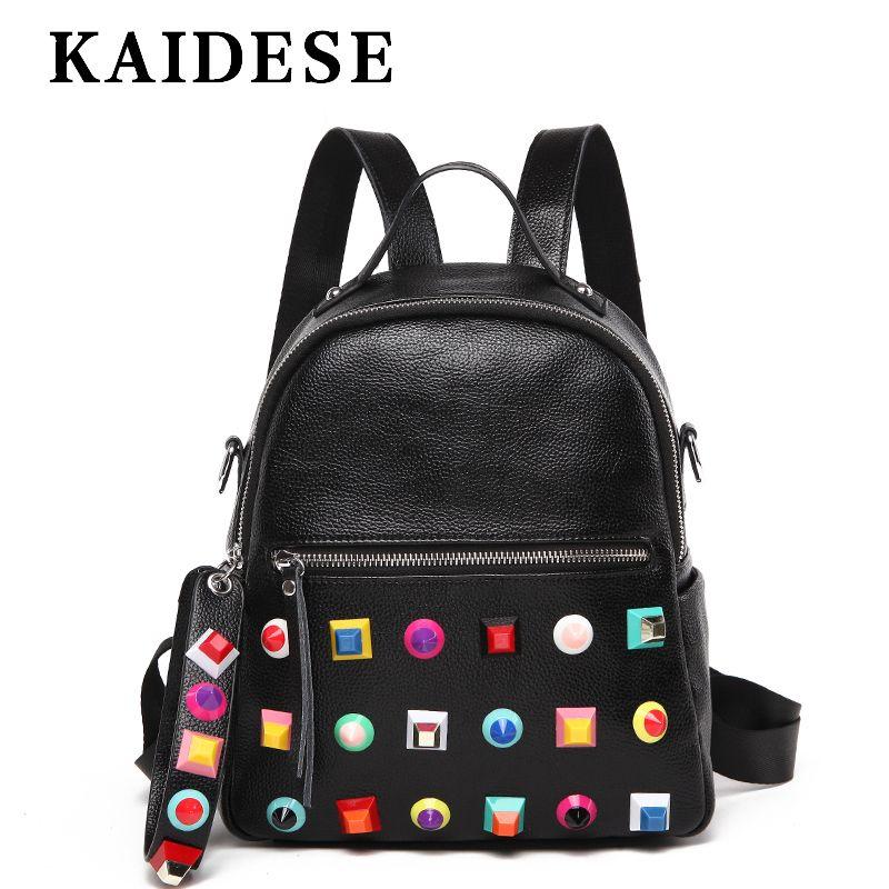 KAIDESE 2018 New Fashion Shoulder Bag Lady leisure travel backpack Korea college big wind chest bag