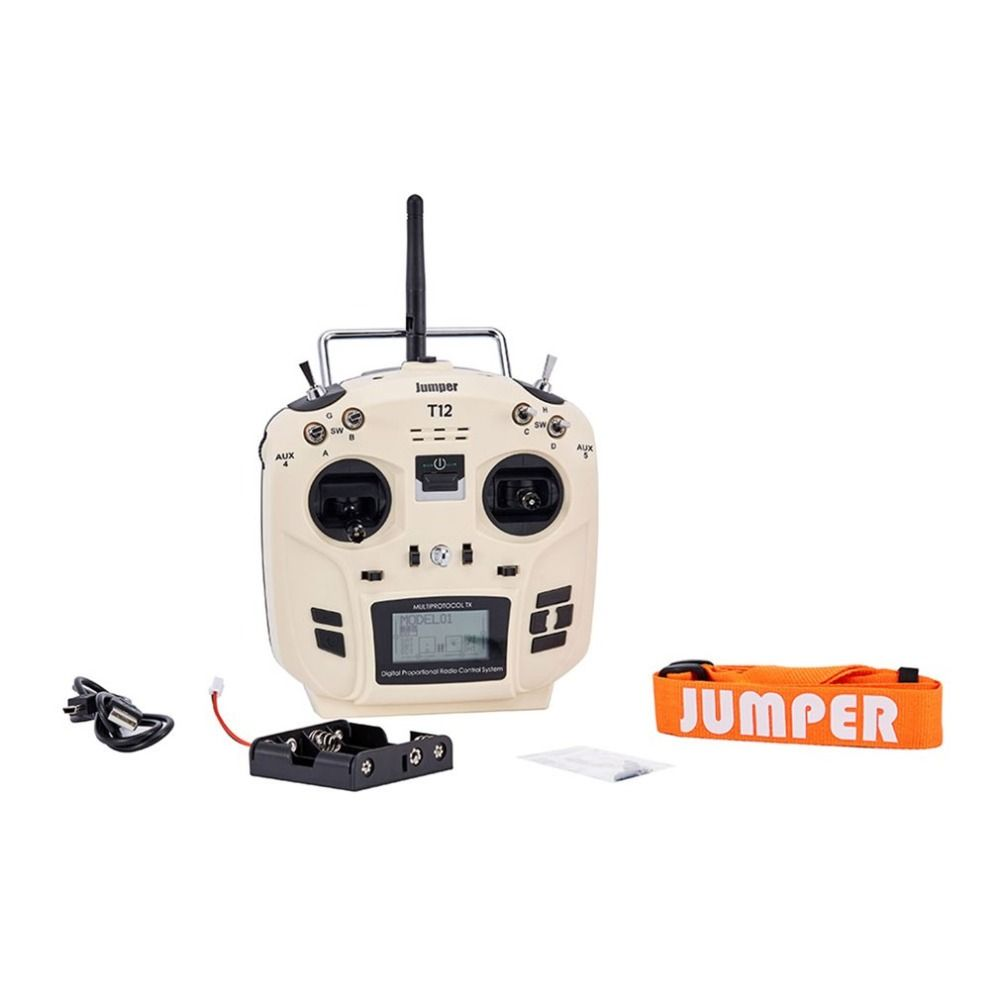 Jumper T12 OpenTX 12ch transmitter Radio Remote Controller with JP4-in-1 Multi-protocol RF Module for RC Drone Car Boat fz