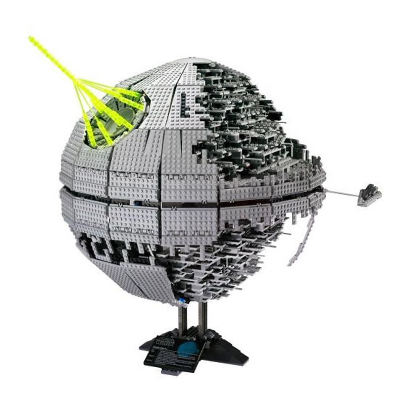 LEPIN 05026 3449Pcs Star Series Wars Death Star Building Blocks Bricks technic Kits Compatible with 10143 Toys Children Gifts
