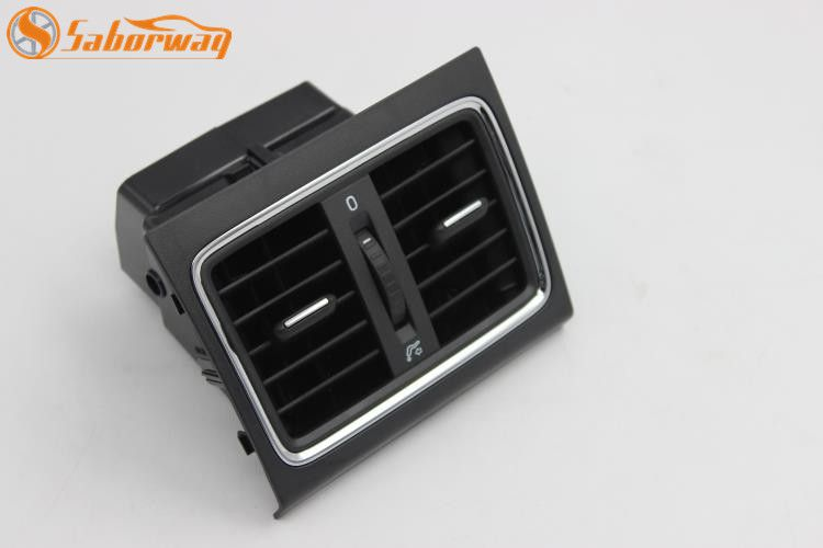 Saborway Rear Air Conditioning Outlet Center Armrest Air Vent Assembly For Yeti 2014-2017 5LD819203 5LD 819 203
