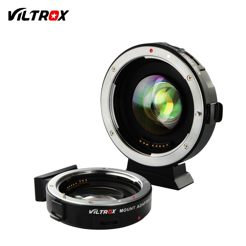 VILTROX EF-M2 0.71x Electronic Auto Focus Reducer Speed Booster Turbo Adapter for Canon Lens to M4/3 camera GH4 GH5 GF6 GX7 OM-D
