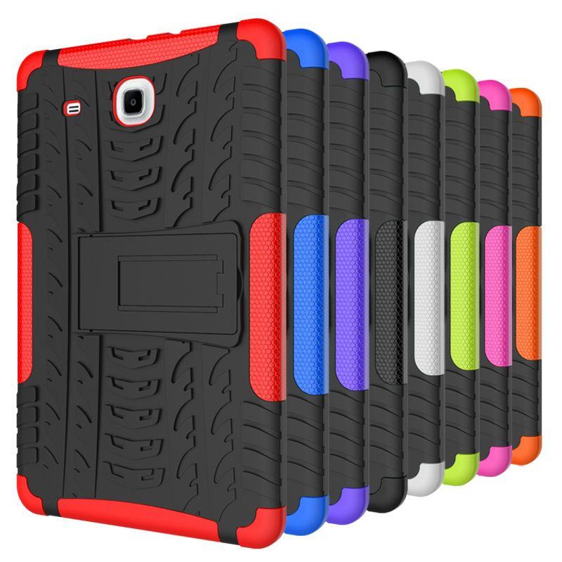 Für Galaxy Tab E 9,6 Heavy Duty Silikon Hard Case stehen Tablet Für Samsung Galaxy Tab E 9,6 T560 T561 9,6