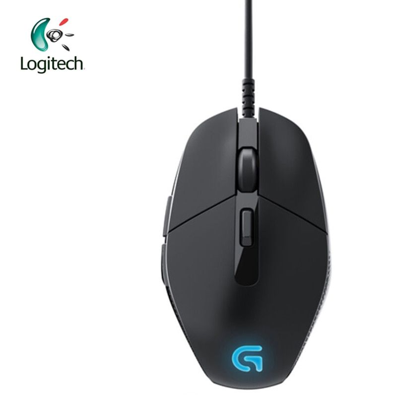 Logitech G302 Wired Gaming Mouse with Breathe Light 4000dpi USB Interface Support Office Test for PC Game Windows10/8/7