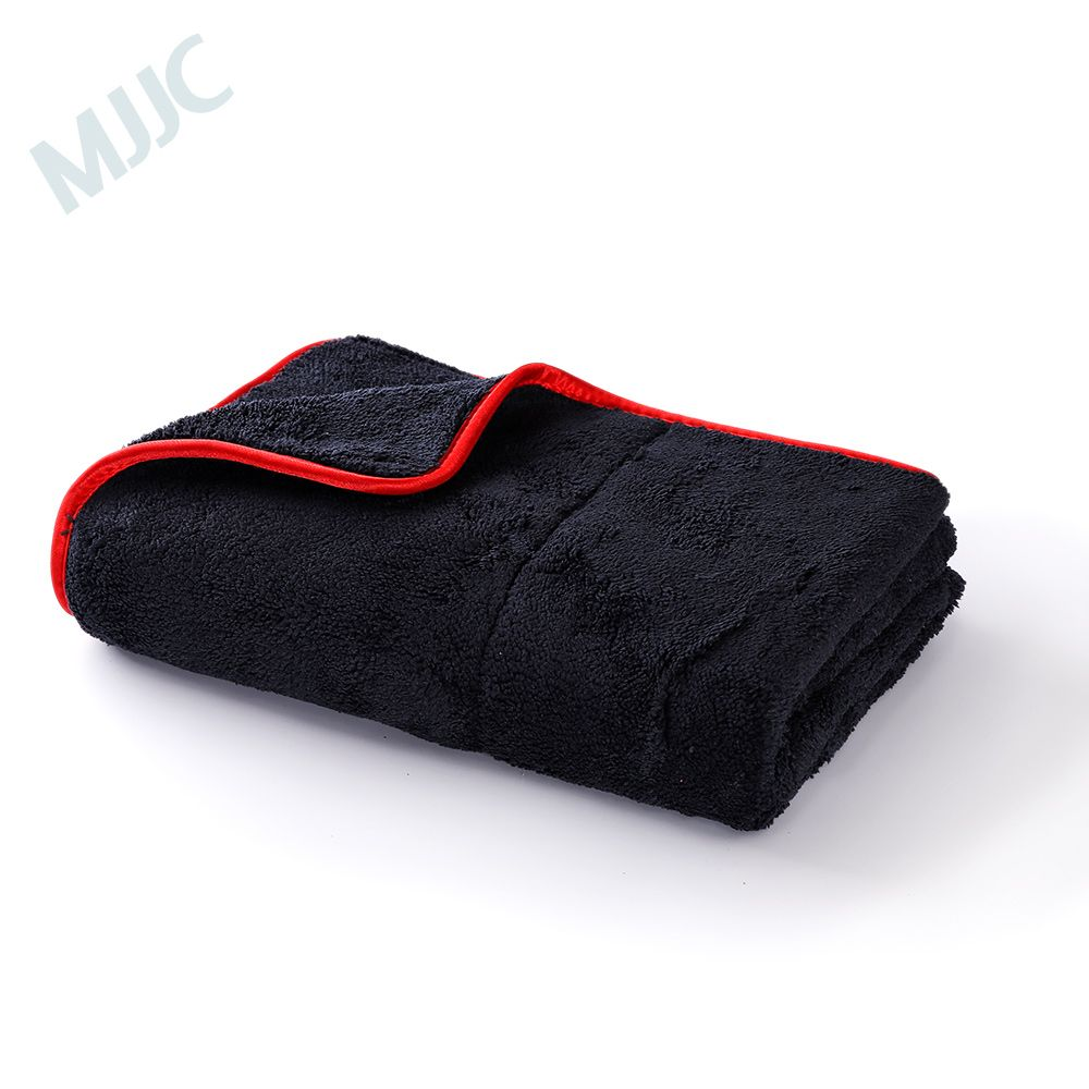 MJJC 60*80CM Car Care Wax Polishing Detailing Towels Super Plush Microfiber Car Cleaning Cloth Car Washing Drying Towel