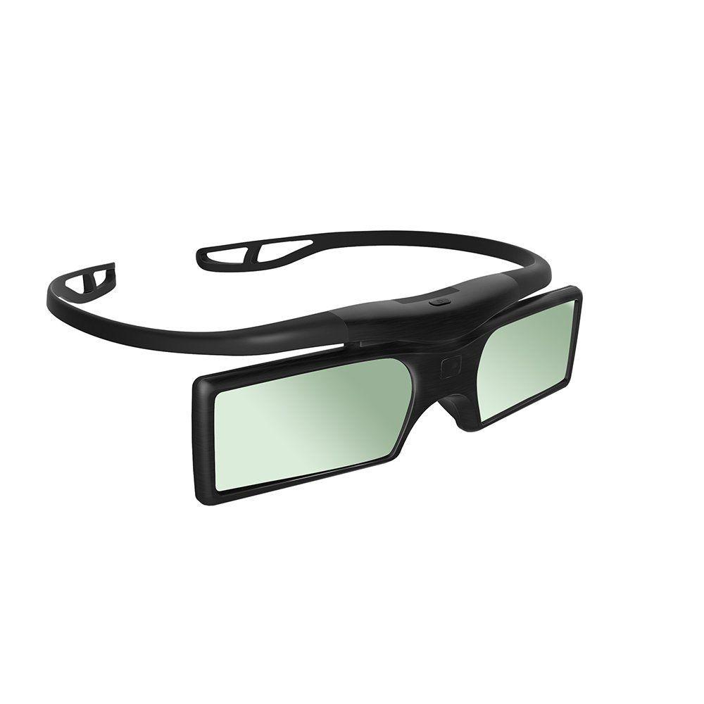 Top Deals G15-BT Bluetooth 3D Active Shutter Stereoscopic Glasses For TV Projector Epson / Samsung / SONY / SHARP Bluet