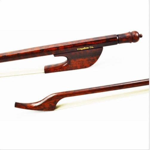 610C 4/4 Size Light Baroque CELLO BOW Snakewood Stick and Frog Natural White Horsehair Easier Control Cello Parts Accessories