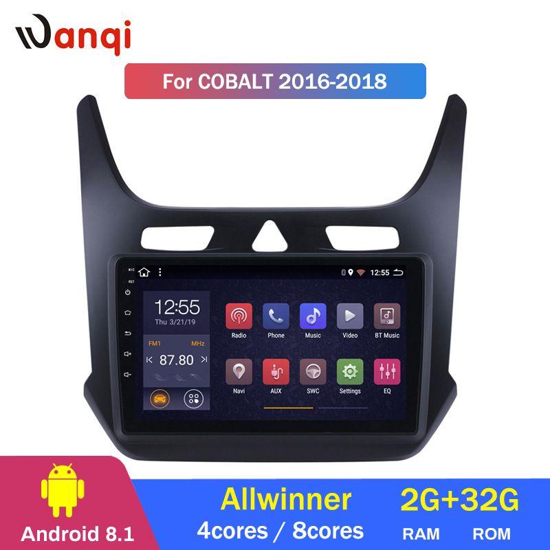 2G RAM 32G ROM Android 8.1 9 zoll Touchscreen GPS Navigation Radio für 2016 2017 2018 Chevrolet cobalt