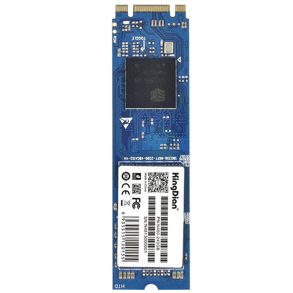 KingDian M.2 NGFF Solid State Drive 256 GB M2 2242 Disk für Desktop-PCs und MacPro (N480 80mm) N480 240 GB