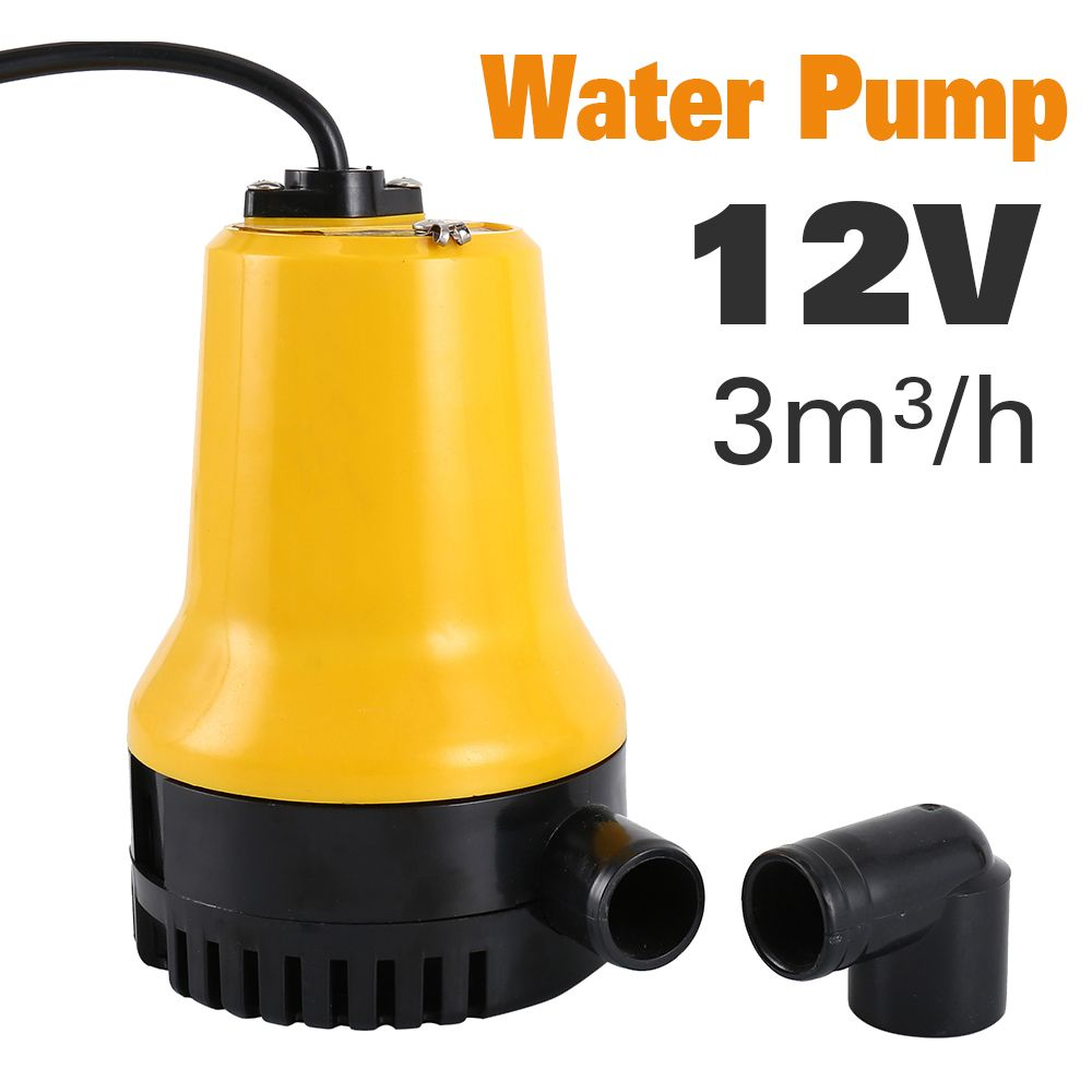 DC12V Agricultural Irrigation Bilge Water Submersible Electric Pump Submersible Pump Home Micro DC Pump