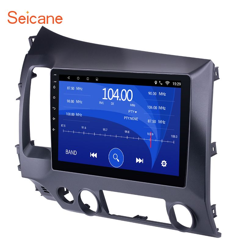 Seicane Android 6.0/7.1 10.1 inch 2Din Car Radio Quad-Core WiFi Multimedia Player For Honda Civic 2006 2007 208 2009 2010 2011