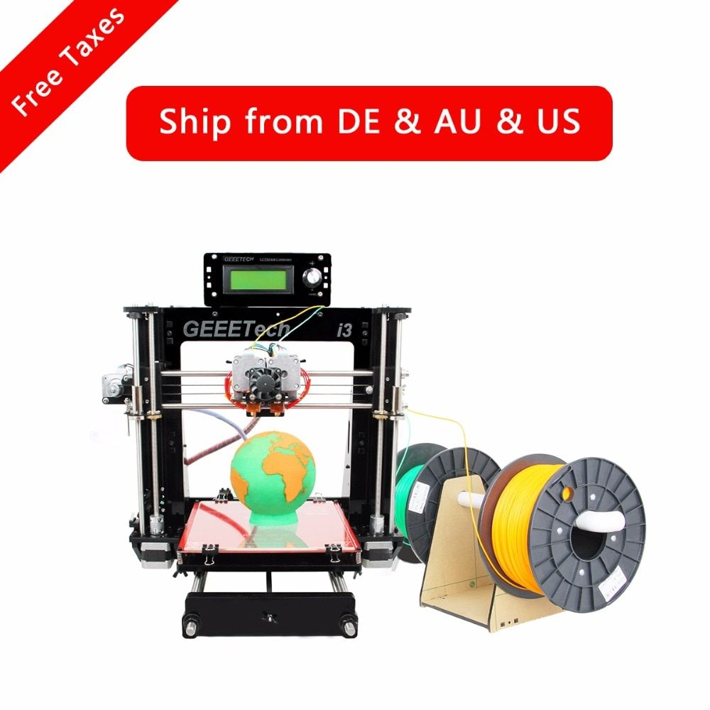 Geeetech I3 Pro C Dual MK8 Extruders Upgraded Quality High Precision Reprap Prusa DIY Printing Kits