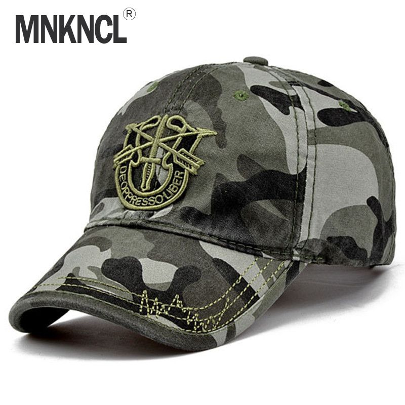2017 New Brand Fashion Army Camo Baseball Cap Men Women Tactical Sun Hat Letter Adjustable Camouflage Casual Snapback Cap