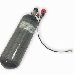 ACECARE الغوص بالون 9L hpa تانك 300bar CE pcp الهواء خزان الألوان البسيطة الغوص carbon fiebr المواد مع الدين صمام AC109301