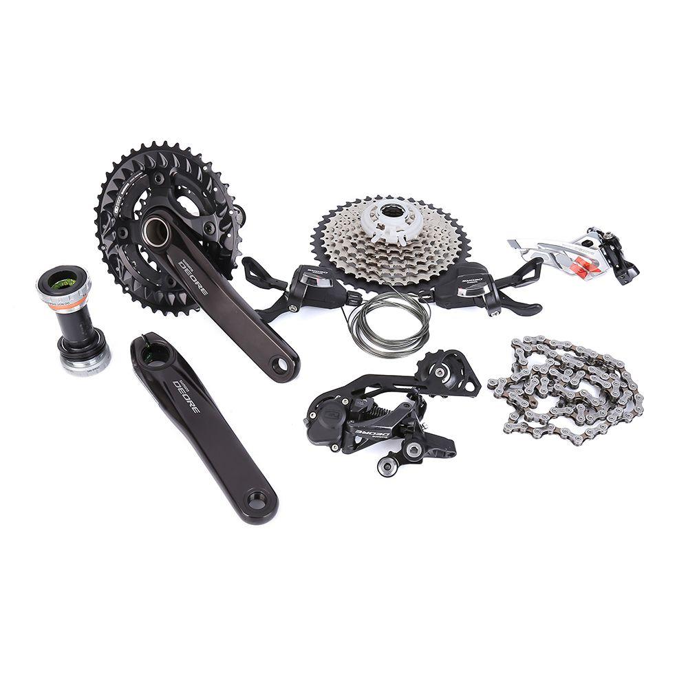 SHIMANO Deore M6000 2x10 170mm 38-28 T Geschwindigkeit 3x10 30 Geschwindigkeit 170mm 40-30-22T fahrrad MTB Groupset 7 Stücke Update von M610