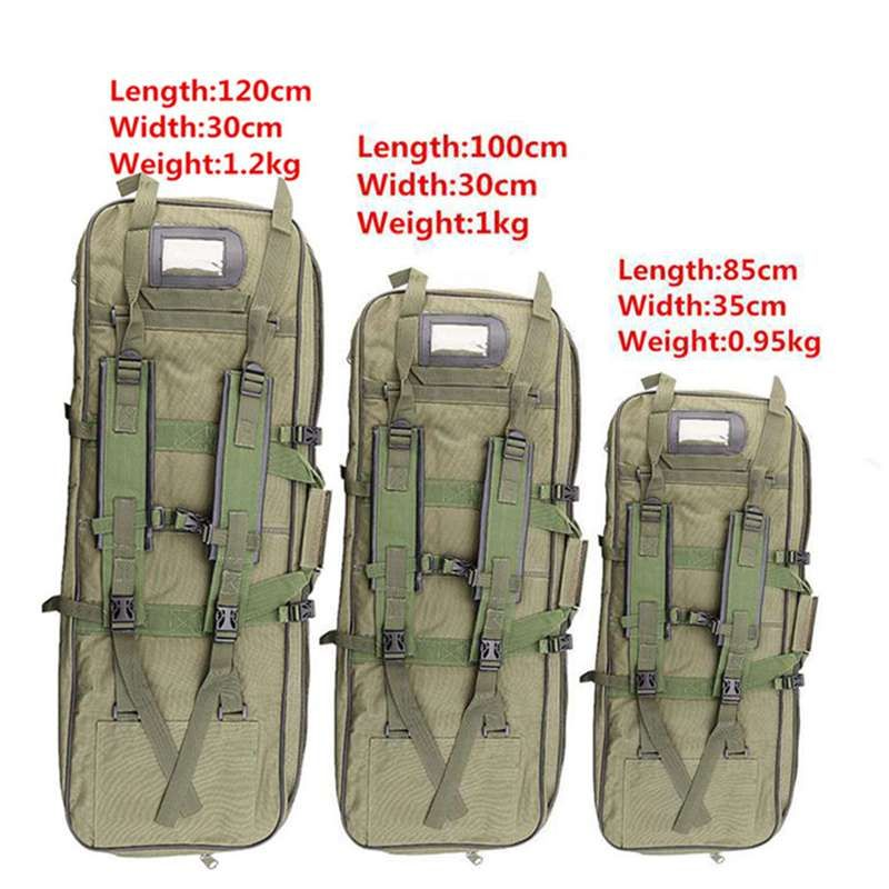 Tactical Equipment 85CM/100CM/120CM Military Hunting Backpack Airsoft Square Gun Bag Protection Case Rifle Backpack