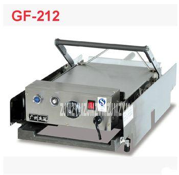 220 V/50 HZ GF-212 hamburgers électrique voiture/panneau sandwich grille-pain/grill machine Matériel en acier Inoxydable 2000 W Hamburgers
