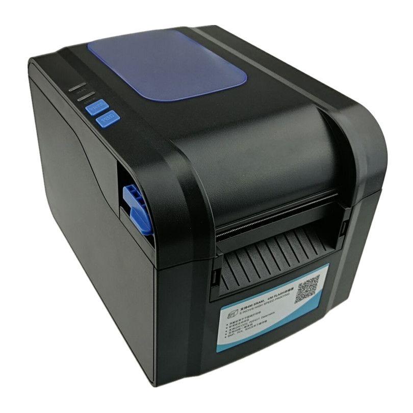 Label-aufkleber belegdrucker Barcode QR code kleine ticket rechnung positions-drucker Unterstützung 20-80mm breite druckgeschwindigkeit sehr schnell
