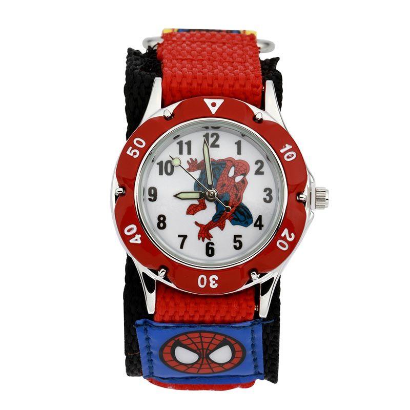 Reloj de la historieta Del Reloj de Los Niños Reloj Deportivo de Moda Niños Niños Estudiantes Cuarzo de Los Deportes relojes Relogio Zegarek