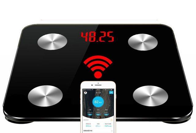 HEIßER 25 körper daten Haushalt Intelligente Waagen badezimmer Mit Einem Gewicht Von Boden Waagen Elektronische Digitale Körper Fett Gewicht Mi Waagen PK Yunmai