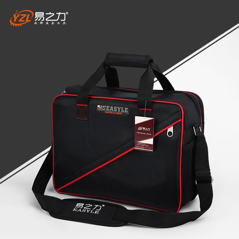 Newest Medium size Multi-Layers Fabric Oxford Tool bags Single Shoulder Portable Kit waterproof case Tool without tools