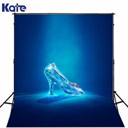 6.5Ft*10Ft Gorgeous Noble Cinderella Crystal Shoes Photography Backdrops Photography Background Fotografia Background