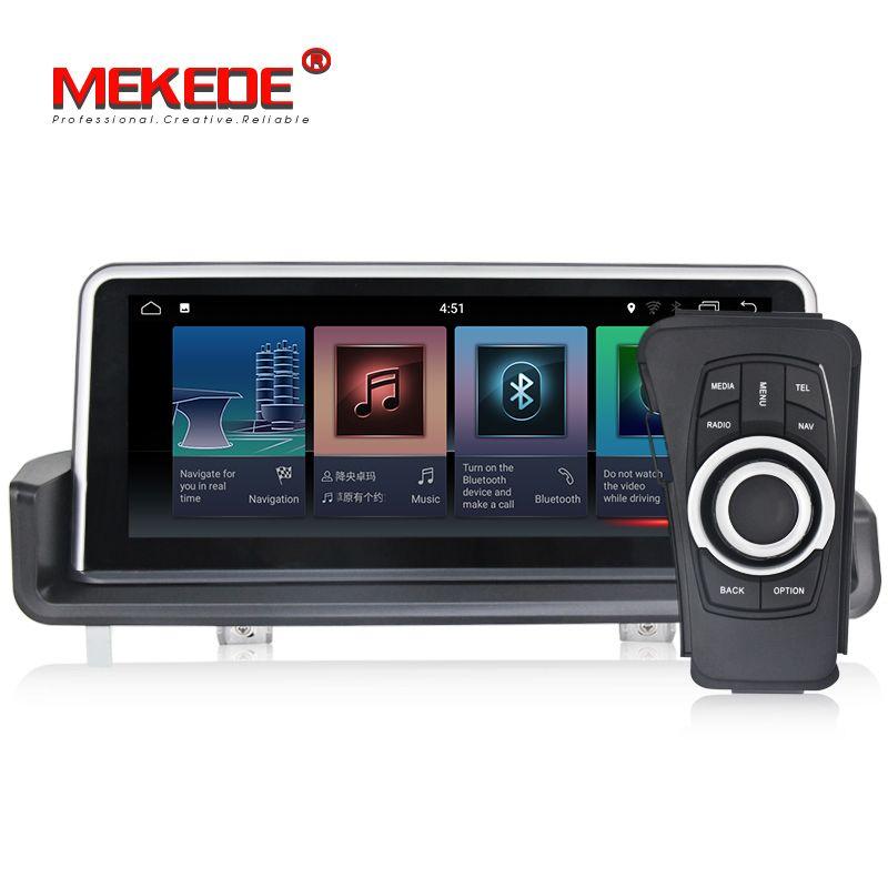 10,25 zoll Auto Multimedia-Player GPS Android 7.1 1 Din DVD Automotivo Für BMW/3 Serie E90/E91/ e92/E93 2 GB RAM Radio FM Wifi