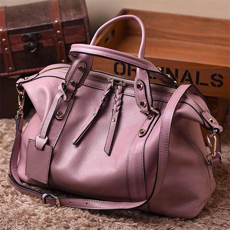 Природный Теплые женские сумки натуральная кожа сумки женские большие сумки плеча модные женские сумки через плечо Повседневная сумка Sac
