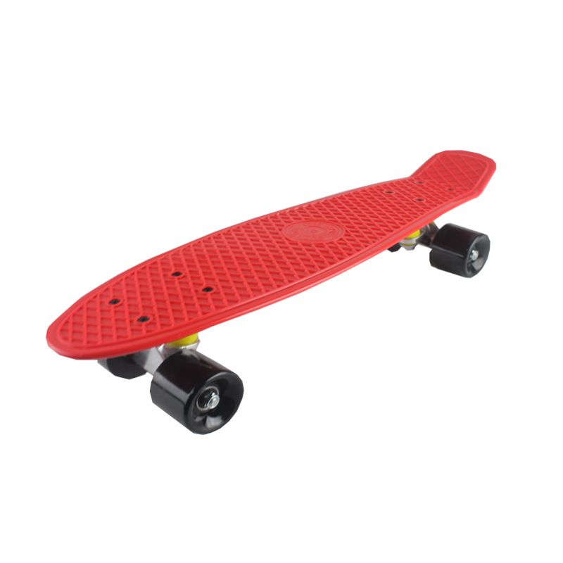 5 Pastel Color Four-wheel 22 Inches Mini <font><b>Cruiser</b></font> Skateboard Street Long Skate Board Outdoor Sports For Adult or Children