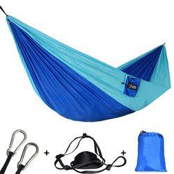 Outdoors Portable Camping Parachute Sleeping Double Hammock Garden Swing Hamac Hanging Chair Flyknit Hamaca Rede Amaca DC12