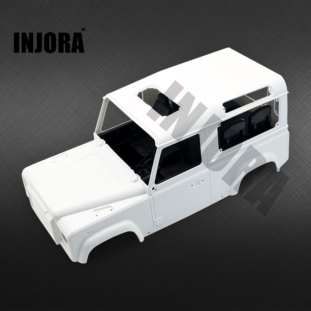 INJORA Hard Plastic Car Shell for 1/10 RC Crawler RC4WD D90 D110 Body Shell