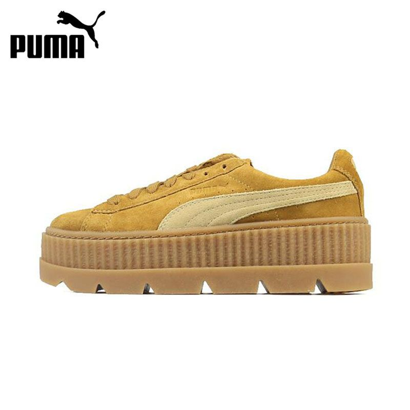 New Arrival Official Puma x Fenty Cleated Creeper Women's Hard-Wearing Skateboarding Shoes Sports Sneakers Classique