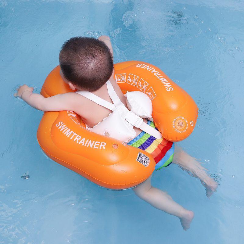 2017 nouveau bébé aisselles flottant gonflable anneau de bain pour bébé enfants piscine accessoires cercle bain gonflable radeau anneaux