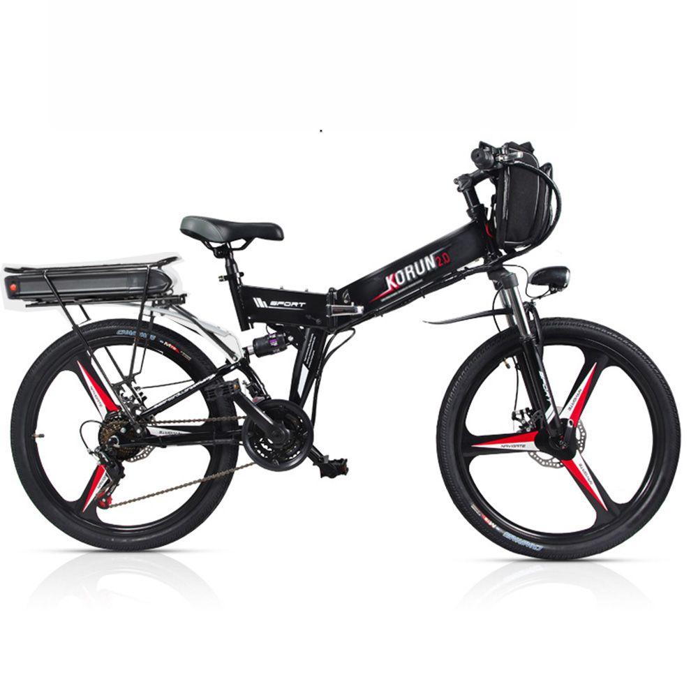Nach 26 zoll Elektrische fahrrad 48 V Drei lithium-batterie elektrische mountainbike smart unterstützen hybrid ebike klingelte 200- 250 km ebike