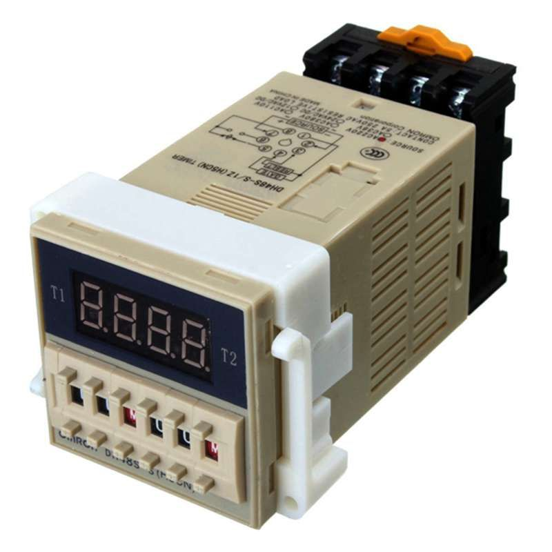 AC 220 V 5A Programmierbare Doppel Zeit Timer Zeitrelais Device Tool DH48S-S