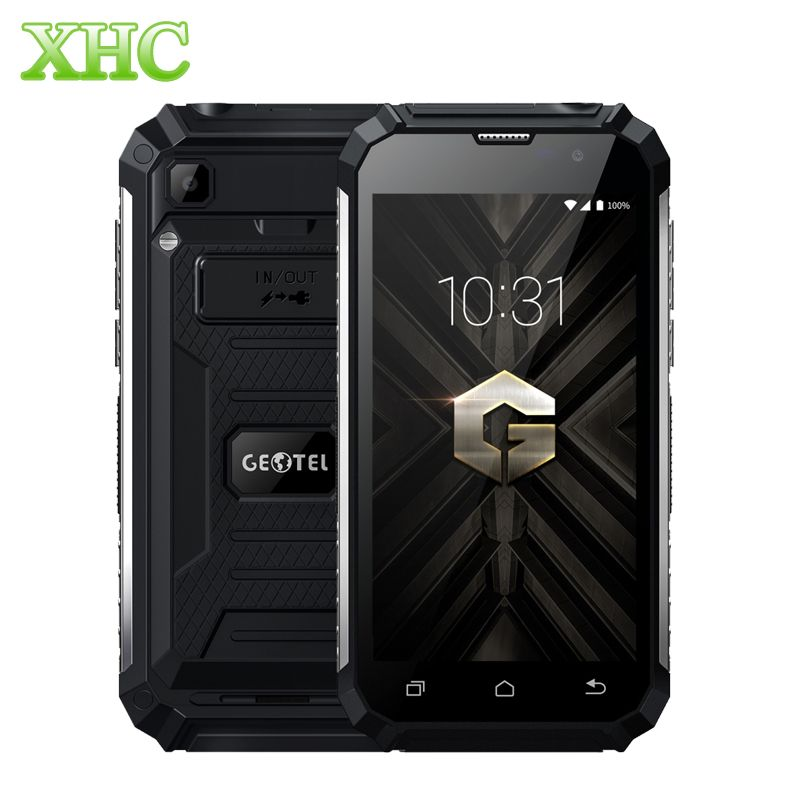 Geotel G1 2GB+16GB Shockproof Smartphone 7500mAh 5.0'' Android 7.0 MTK6580A Quad Core 1.3GHz WCDMA 3G Dual SIM Mobile Phone