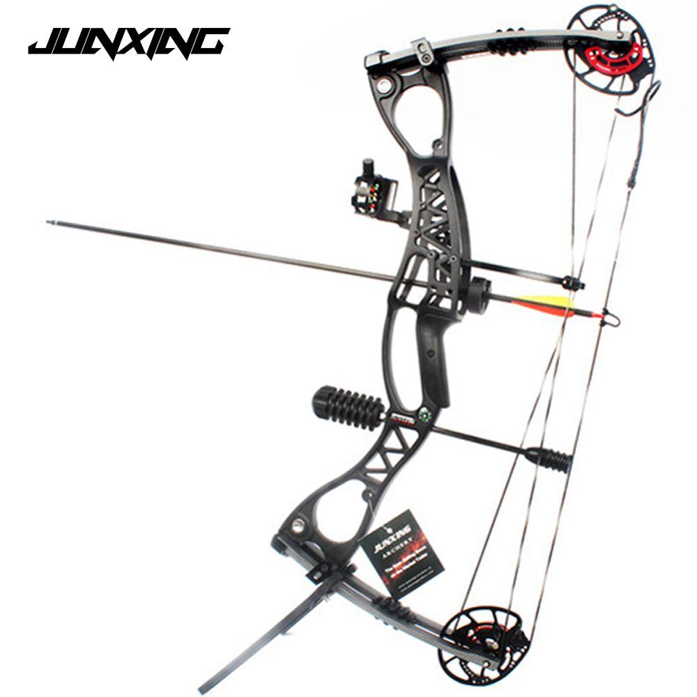 M122 Verbindung Bogen Mit 40-70 £ Zuggewicht Bogenschießen Set für Wettbewerb Praxis Ziel Freien Jagd Schießen Bogenschießen