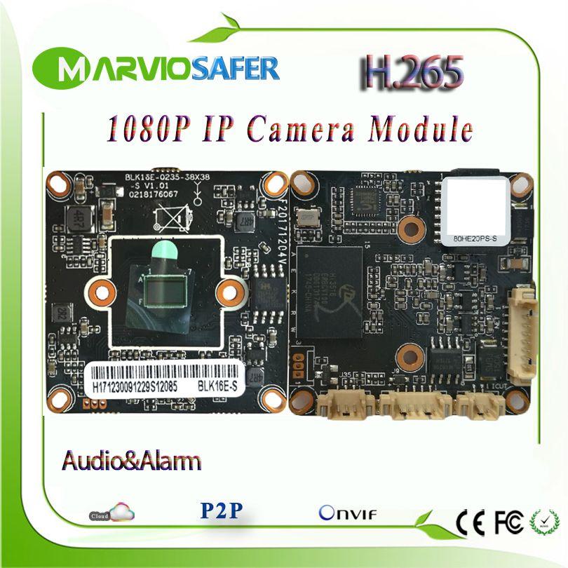 H.265 2MP 1080 P Full HD Netzwerk CCTV IP Kamera Bord module Zweiwege-audio Onvif DIY Ihre Eigenen Videoüberwachung System RTSP