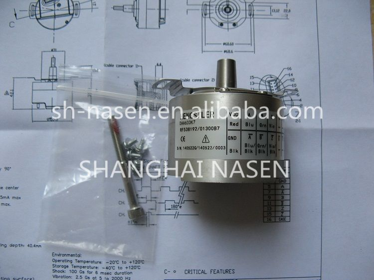 Drehgeber HENGSTLER DAA633K7 RF538192 (ersetzen DAA633K2 RF538192 013XB3)