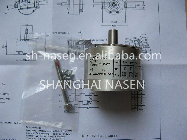 Rotary encoder HENGSTLER DAA633K7 RF538192 (replace DAA633K2 RF538192 013XB3)