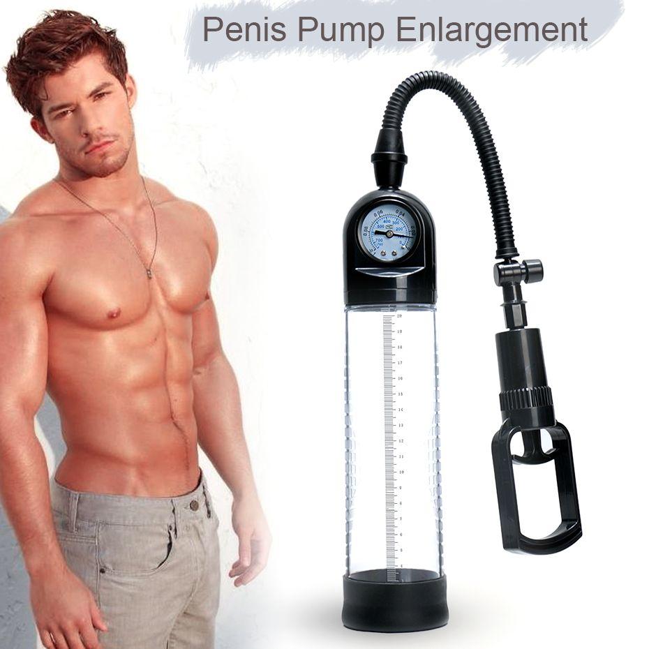 Great Quality Penis Pump CANWIN Cock Penis Enlargement Vacuum Pump Penis Extender Sex Toys Penis Enlarger for Men 29%off [Sale]