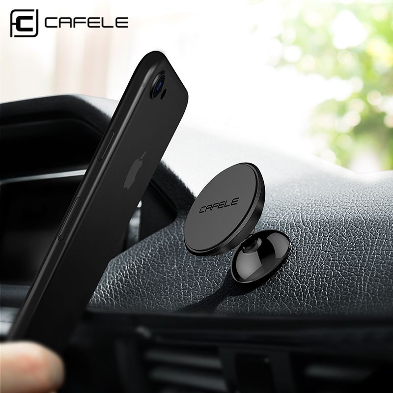 Cafele магнит автомобильный держатель телефона для сотовых телефонов и мини-Планшеты с быстрой SWIFT-кнопки Магнитная автомобильный телефон под...