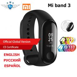 Versi Global Xiao Mi Mi Band 3 Mi Band 3 Gelang 0.78