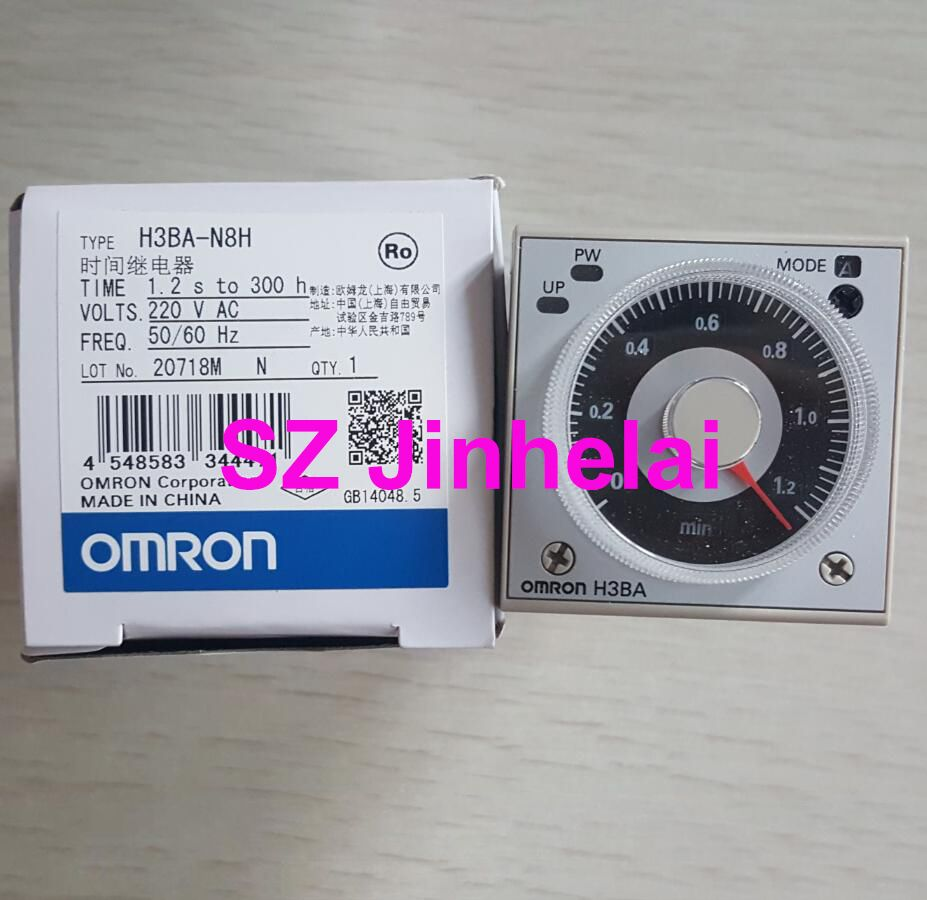 OMRON H3BA-N8H AC220V Authentic original TIME RELAY 220VAC
