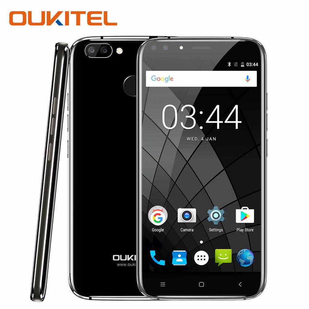 Oukitel U22 Smartphone 5.5'' HD 2 GB RAM 16GB ROM Android 7.0 Mobile Phone 720x1280px 8MP 2700mAh Battery 3G Unlocked Cell Phone