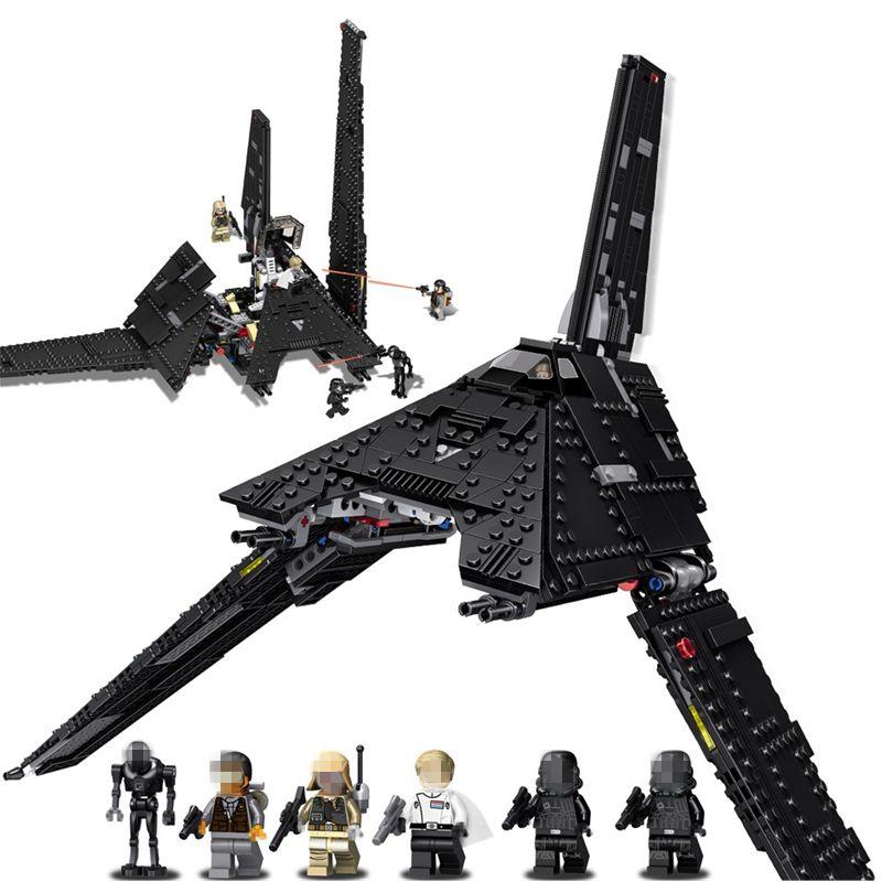 Star Wars Krennic's Imperial Shuttle Fighter STARWARS Building Blocks Sets Bricks Classic Model Toys Compatible Legoings